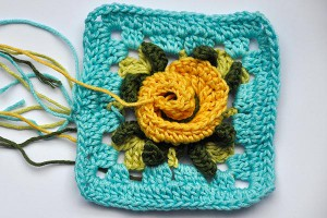 Hkeln: Granny Square &quot;Gelosia&quot;