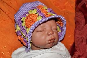 Babymütze Granny Squares