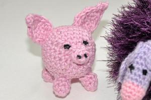 Häkeln: Amigurumi Schweinchen
