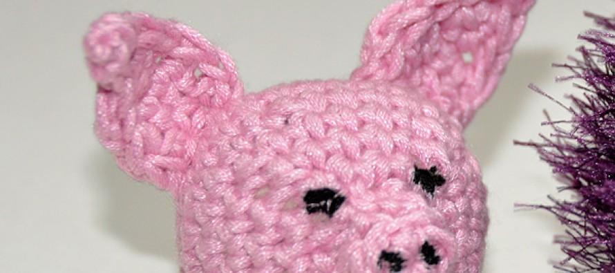 Häkeln: Amigurumi Schweinchen * Teil 3 * Teile zusammennähen