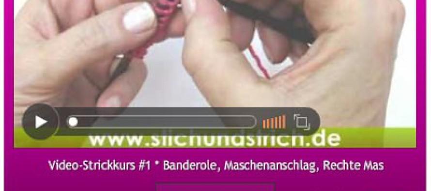 Unser Strickkurs und Häkelkurs auf Deiner Homepage