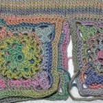 "Babypullover ""Daisy"" mit Granny Squares"