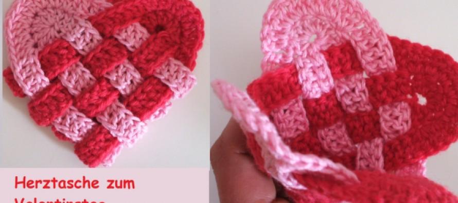 Herztasche zum Valentinstag