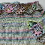 Wir stricken & häkeln einen Babypulli Raglan * Teil 4