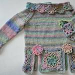 Wir stricken & häkeln einen Babypulli Raglan * Teil 5