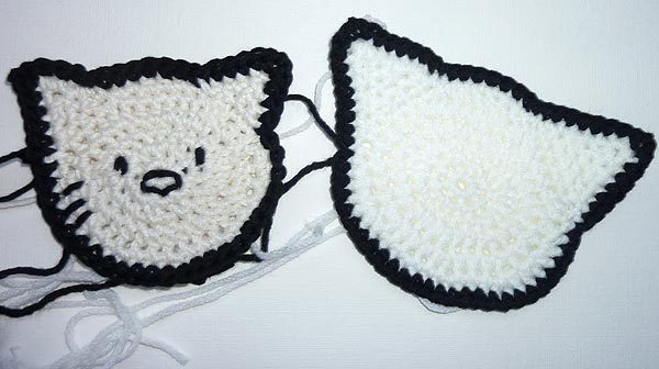 "Stricken * Kinderpulli ""Kitty"""
