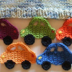 Autos als Bordüre