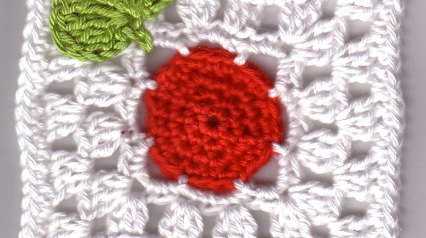 "Granny-Square ""Hoffnung für Japan"""