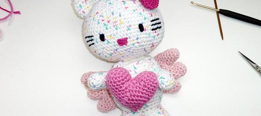 Häkeln * Hello Kitty Engel Engel mit Herz * Teil 6 * Ausarbeitung