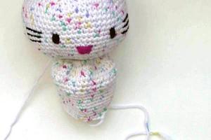 Häkeln: Hello Kitty engel * Körper