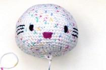 Häkeln: Hello Kitty Engel mit Herz * Teil 1 * Kopf