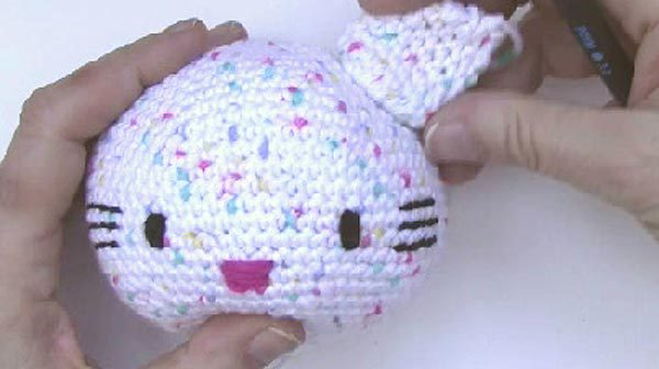 Häkeln * Hello Kitty Engel * Teil 3