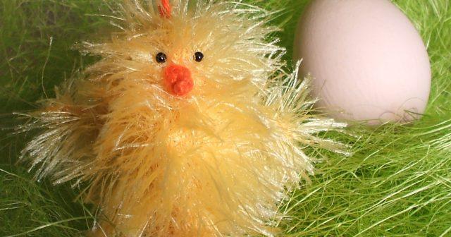 Strickanleitung * Osterküken