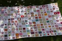 Granny Squares Decke für Japan * Versteigerung