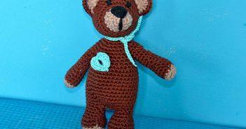 Häkeln * Amigurumi Teddybär 3