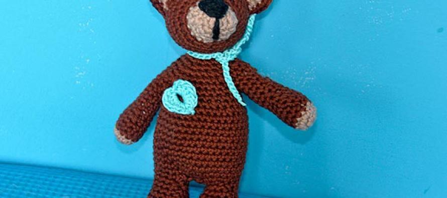 """Häkeln * Super Easy Teddybär """"eliZZZa"""" * Teil 1"""