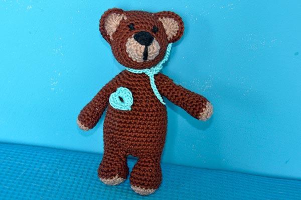 Teddybär stricken oder häkeln