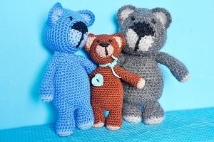 Häkeln * Amigurumi Bärenfamilie