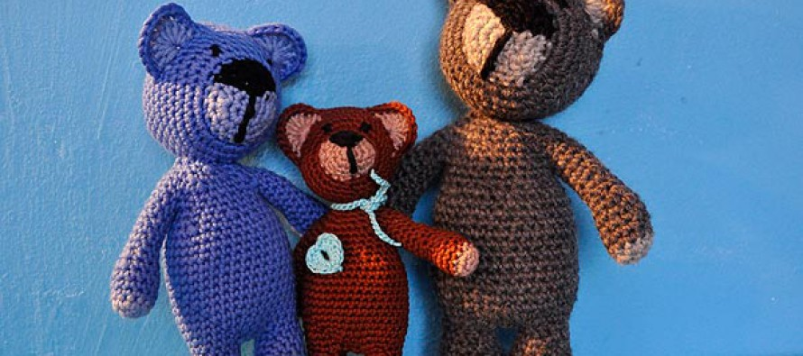 """Häkeln * Super Easy Teddybär """"eliZZZa"""" * Teil 2"""