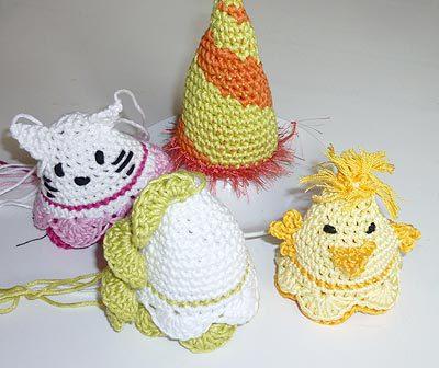 Häkeln für Ostern * Eiermützchen