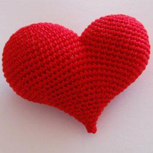Handarbeiten mit Herz