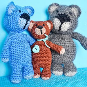 "Crochet Patter * Super Easy Teddybear ""eliZZZa"""