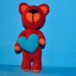 Ein Teddy namens Krishna für Sandro