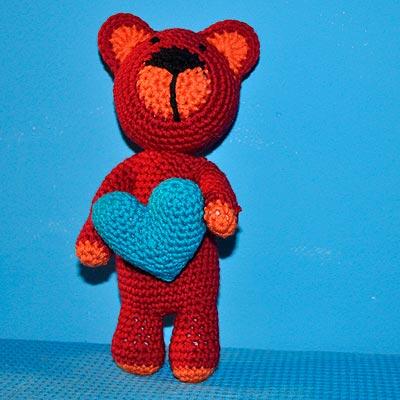 Ein Teddy Namens Krishna Für Sandro Stricken Und Häkeln Mit Elizzza