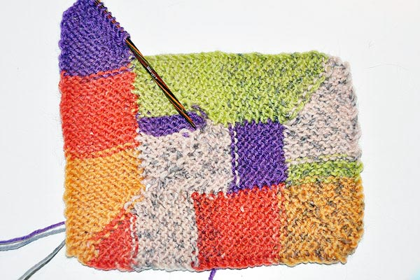 Stricken 10 Stitch Blanket Nach Frankie Brown Stricken Und