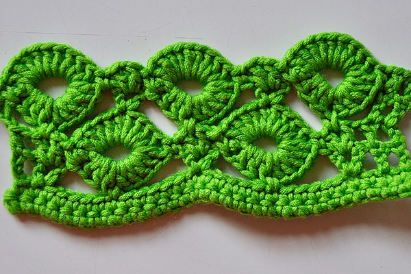 English Crochet Stitches - Crochet Club
