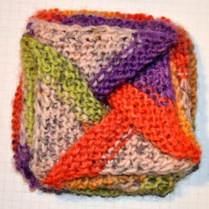 Stricken * Pinwheel Purse