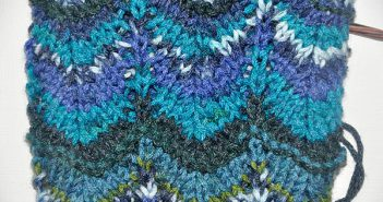 "Strickmuster ""Missoni"""