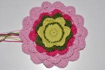 Häkeln * Blütenblätter Topflappen * Pretty Petals Potholder