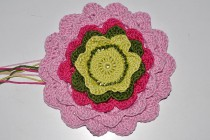Crochet * Pretty Petals Potholder