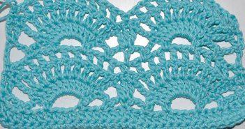 Crochet * Big Fan Stitch