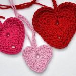 Häkeln * Neue Herzen & Varianten