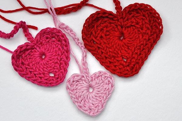 Häkeln Neue Herzen Varianten Stricken Und Häkeln Mit Elizzza
