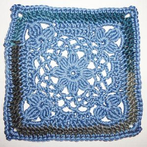 Hkelanleitung * Granny Square &quot;Daisy&quot;