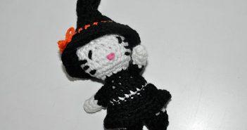 Amigurumi * Hello Kitty Halloween Hexe