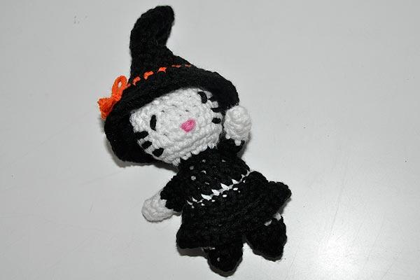 Amigurumi Häkeln Helloween Kitty Stricken Und Häkeln Mit Elizzza
