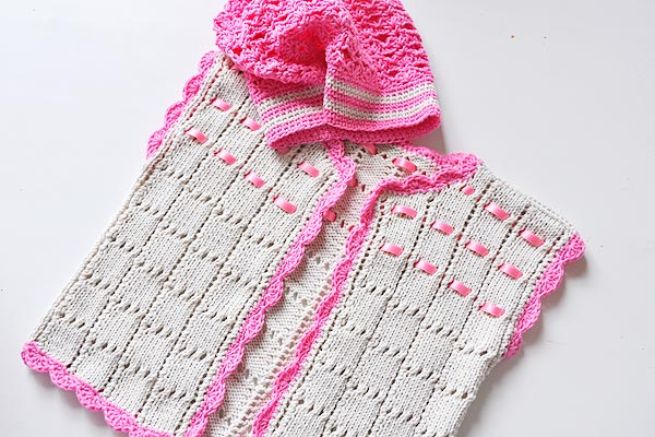 strickanleitung babyweste aermellos weiss rosa haekelbeanie stricken lernen h keln lernen mit. Black Bedroom Furniture Sets. Home Design Ideas