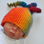 "Knitting * How to knit Tychus Hat ""Rainbow"""