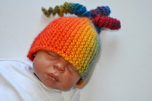 Stricken * Tychus Mtze &quot;Regenbogen&quot;