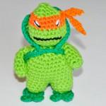 Häkelanleitung * Hello Mikey * Ninja Turtle * Amigurumi