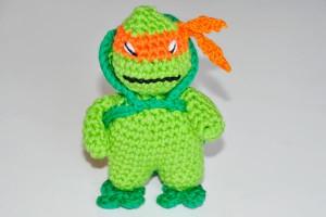 Häkeln * Hello Mikey * Ninja Turtle
