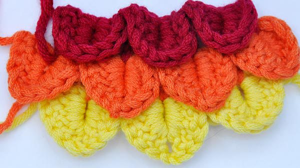 Crochet * Crocodile Stitch
