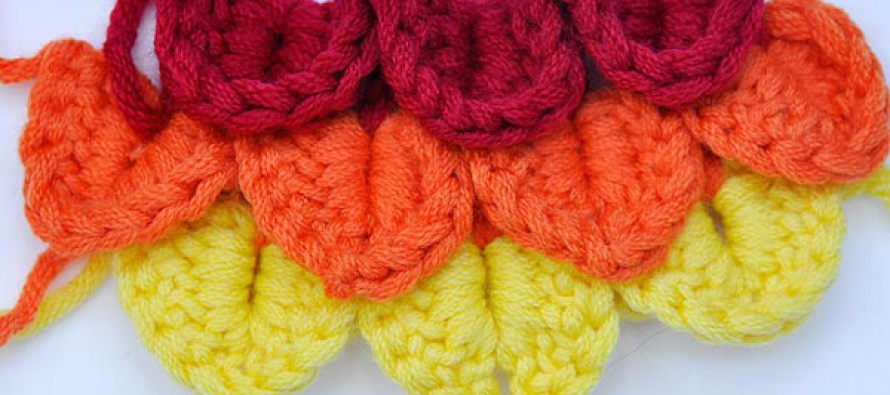 Crochet * Crocodile Stitch * Scales Stitch