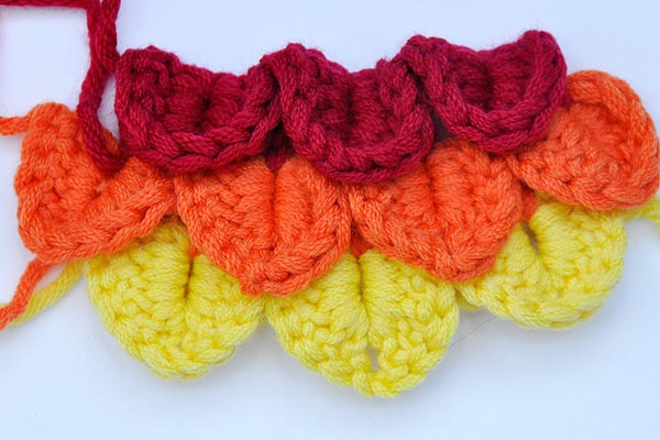 Crochet Stitches Crocodile : Crochet * Crocodile Stitch * Scales Stitch