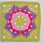 "Adventskalender * 9. Dezember * Granny Square ""Estaria"""