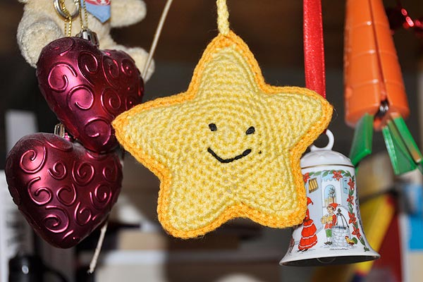 "Amigurumi Häkelstern ""Happy Star"""